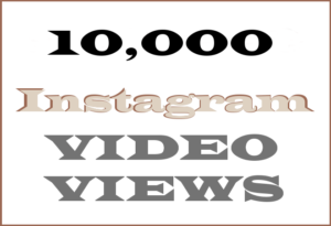 10,000 Instagram Video Views